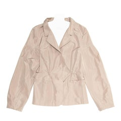 Miu Miu Taupe Short Jacket