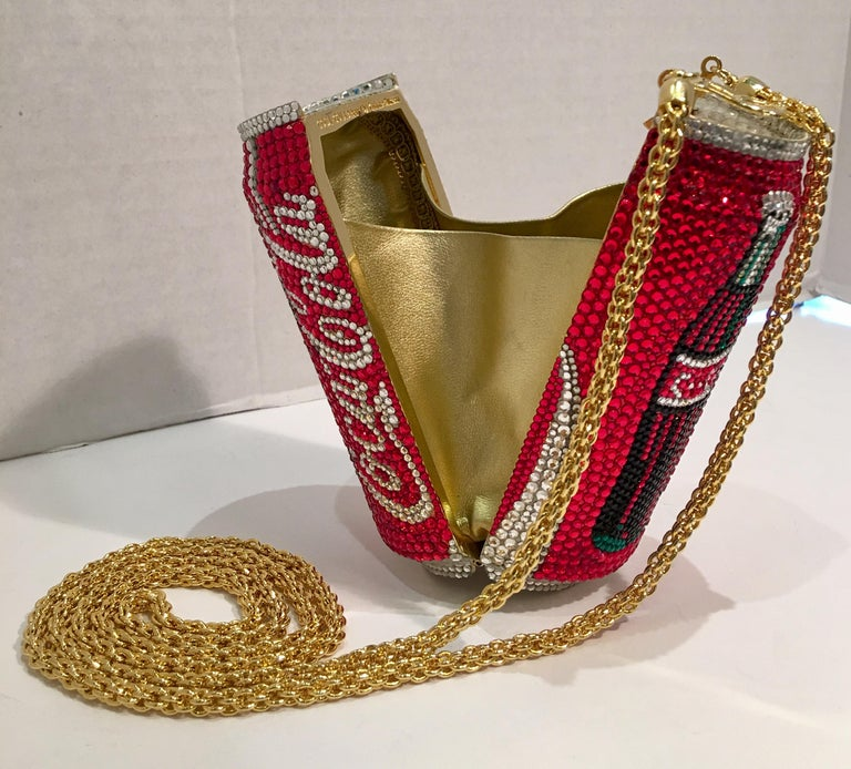 Kathrine Baumann Limited Edition Coca Cola Can Miniaudiere Evening Bag For Sale 1
