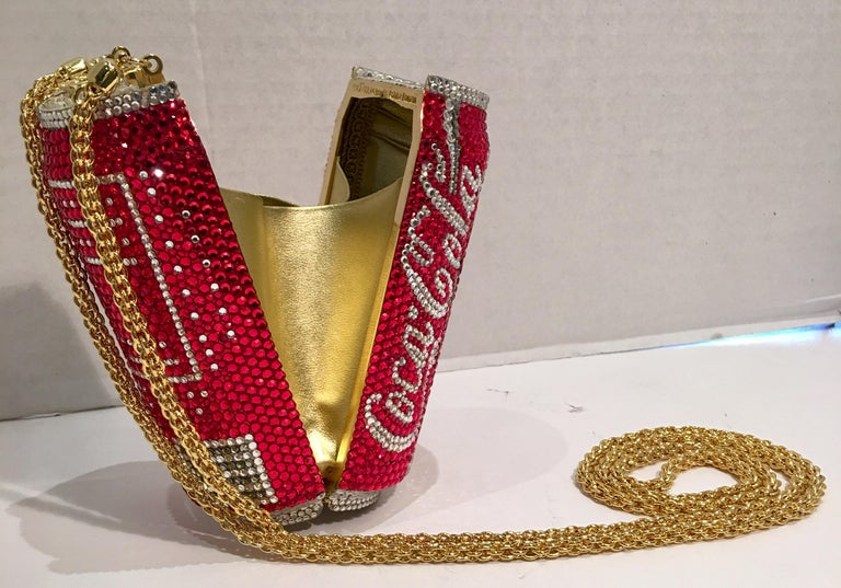 Kathrine Baumann Limited Edition Coca Cola Can Miniaudiere Evening Bag For Sale 3