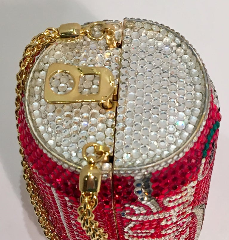 Women's Kathrine Baumann Limited Edition Coca Cola Can Miniaudiere Evening Bag For Sale