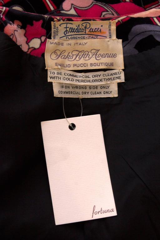 1960s Emilio Pucci Printed Cotton Jacket  2
