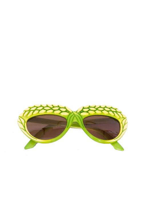A pair of 1980s Green Isabel Canovas Sunglasses 4