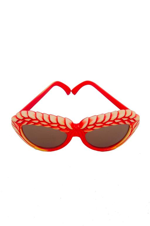 A Pair of 1980s Red Isabel Canovas Sunglasses 4
