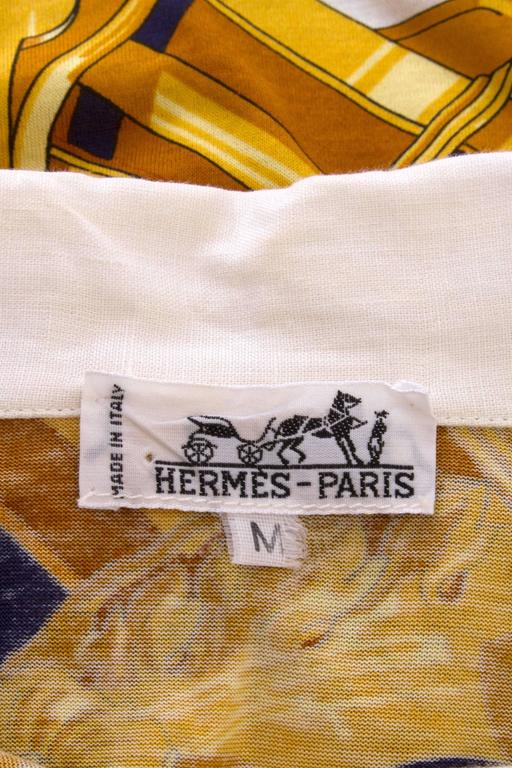 1980s Hermès Cotton T-Shirt  2
