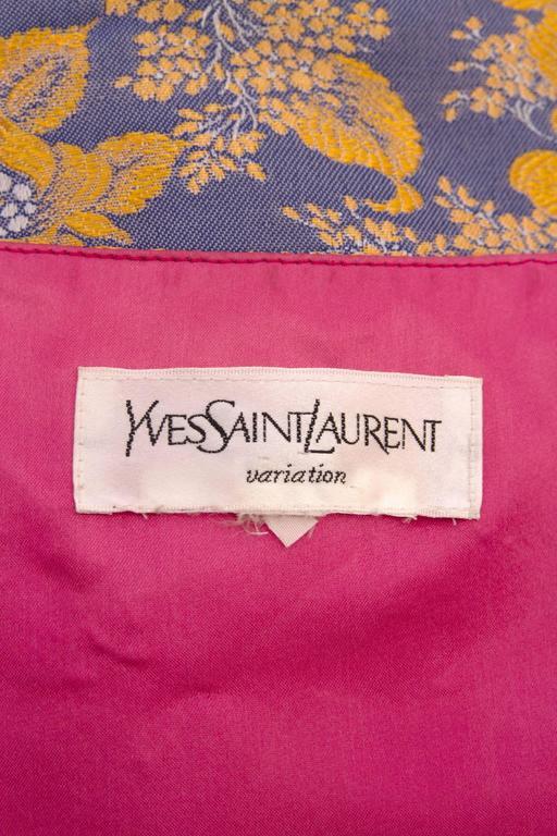 1980s Yves Saint Laurent Silk Vest  2