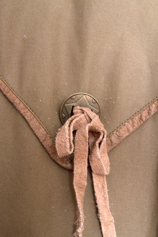 1980s Claude Montana Trench Coat 9