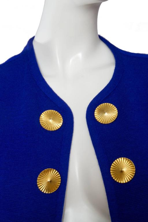 1980s Yves Saint Laurent Knitted Jacket 7