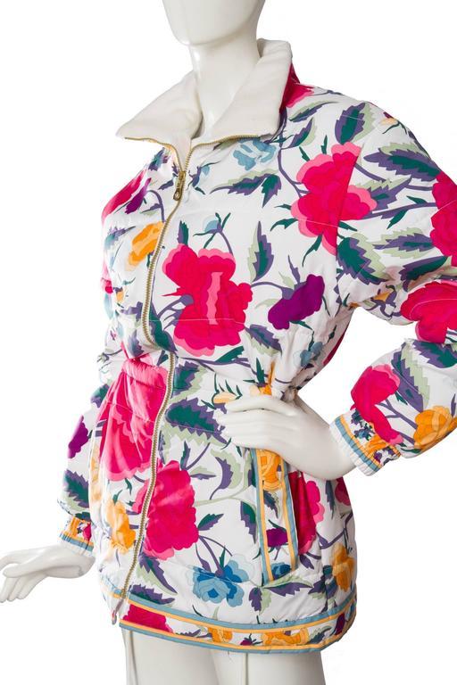 80s Leonard Puffer Jacket 4