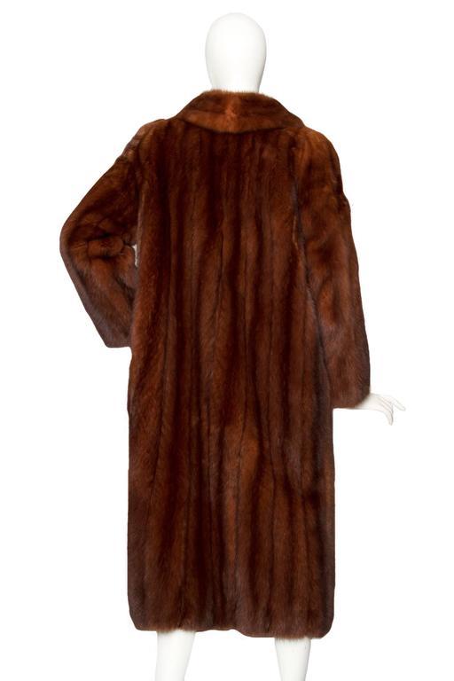 Stunning 80s Russian Sable Fur Coat  3