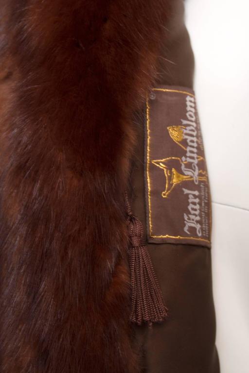 Stunning 80s Russian Sable Fur Coat  6