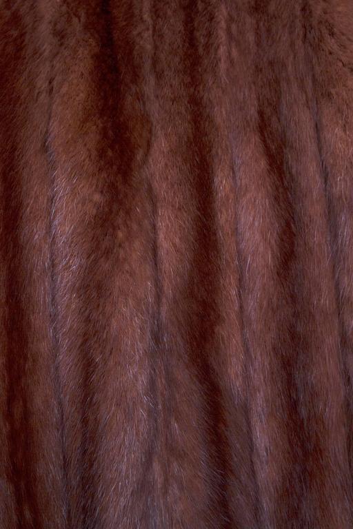 Stunning 80s Russian Sable Fur Coat  5