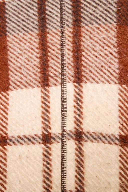 A 90 Tartan Jean-Charles de Castelbajac Wool Jacket For Sale 2