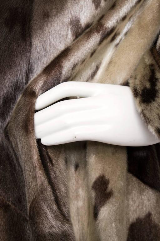 Yves Saint Laurent 90s Seal Skin Fur Coat 4