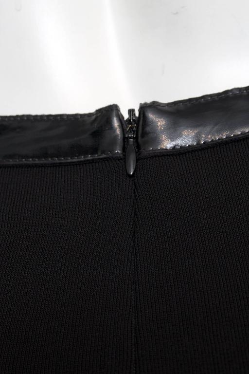 Flirty Little Black Chanel Skirt In Good Condition For Sale In Copenhagen, DK