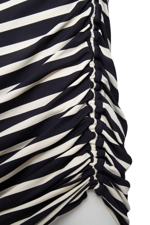 1990s Jean Paul Gaultier Sailor Stripe Dress   6