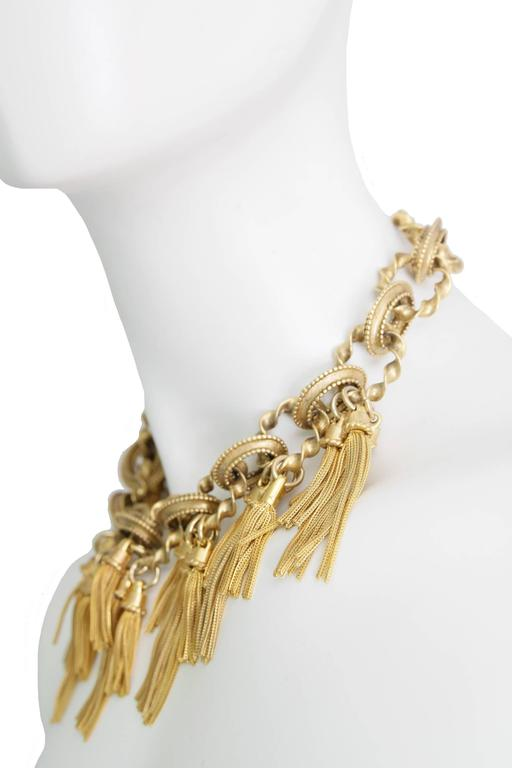 Karl Lagerfeld Goldtone Chain Necklace 2