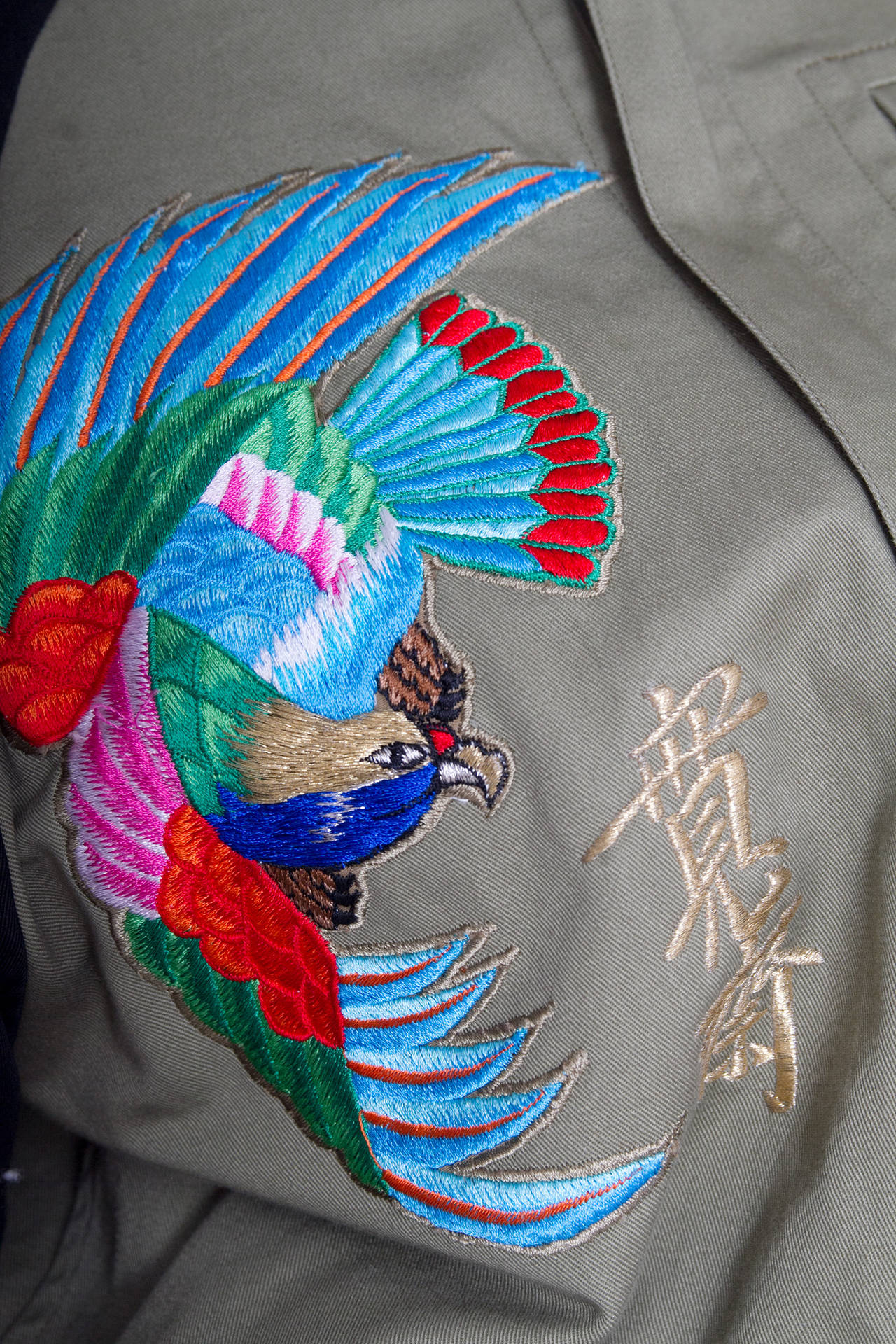 1980s Kansai Yamamoto Canvas Biker jacket For Sale 1