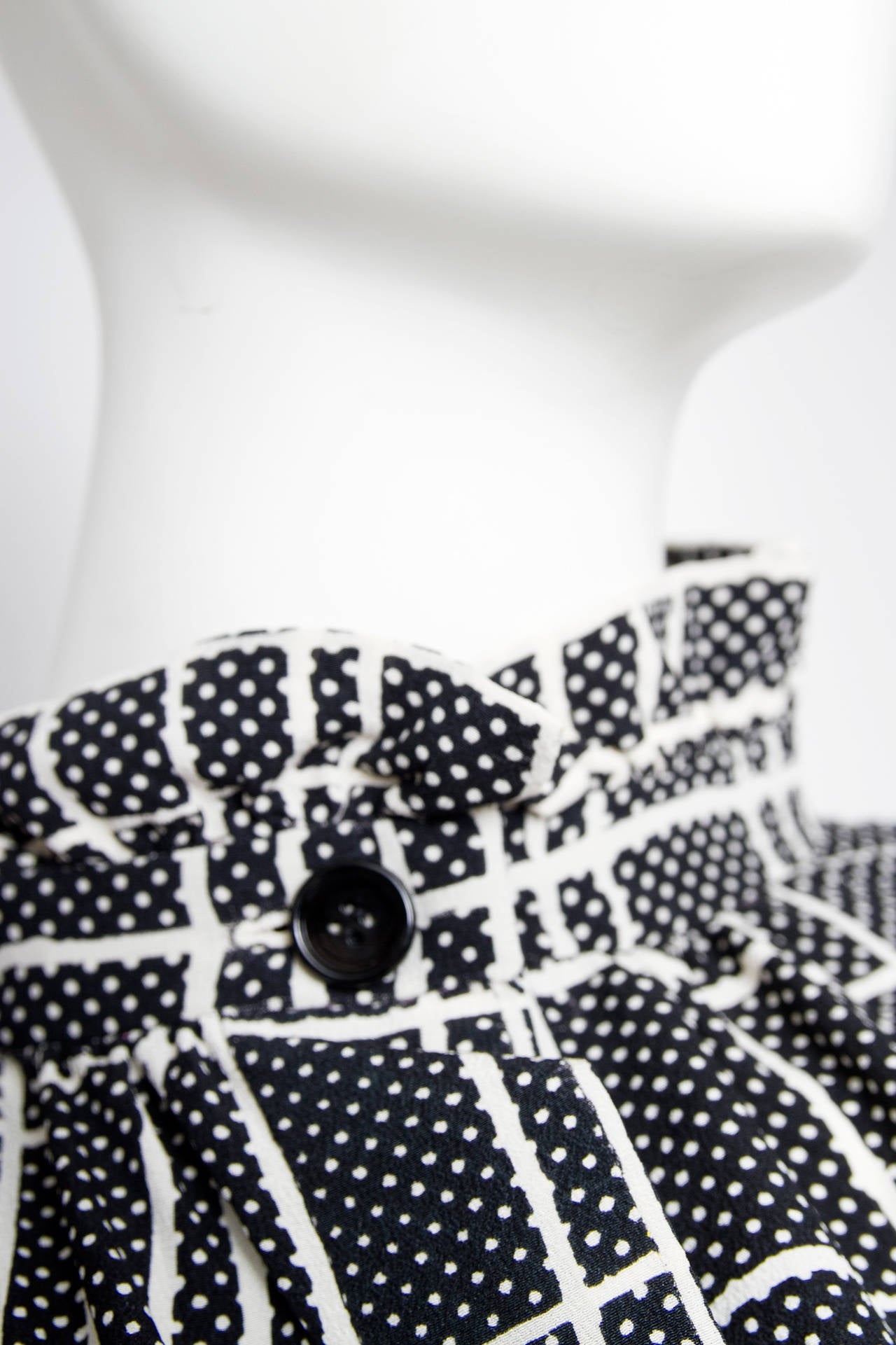 A 1970s Givenchy Haute Couture Silk Jersey Blouse 7