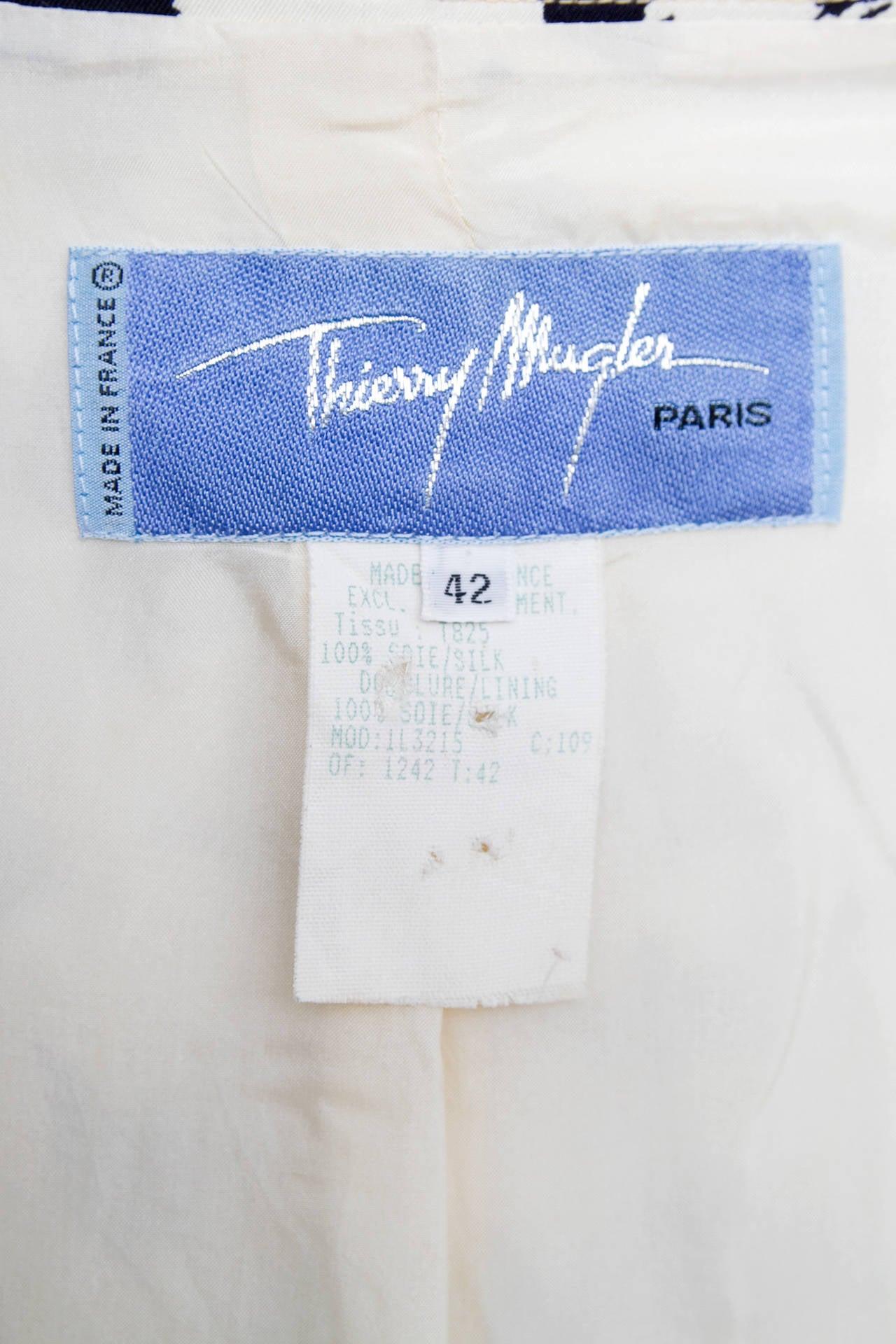 1980s Thierry Mugler Leopard Print Silk Jacket 7