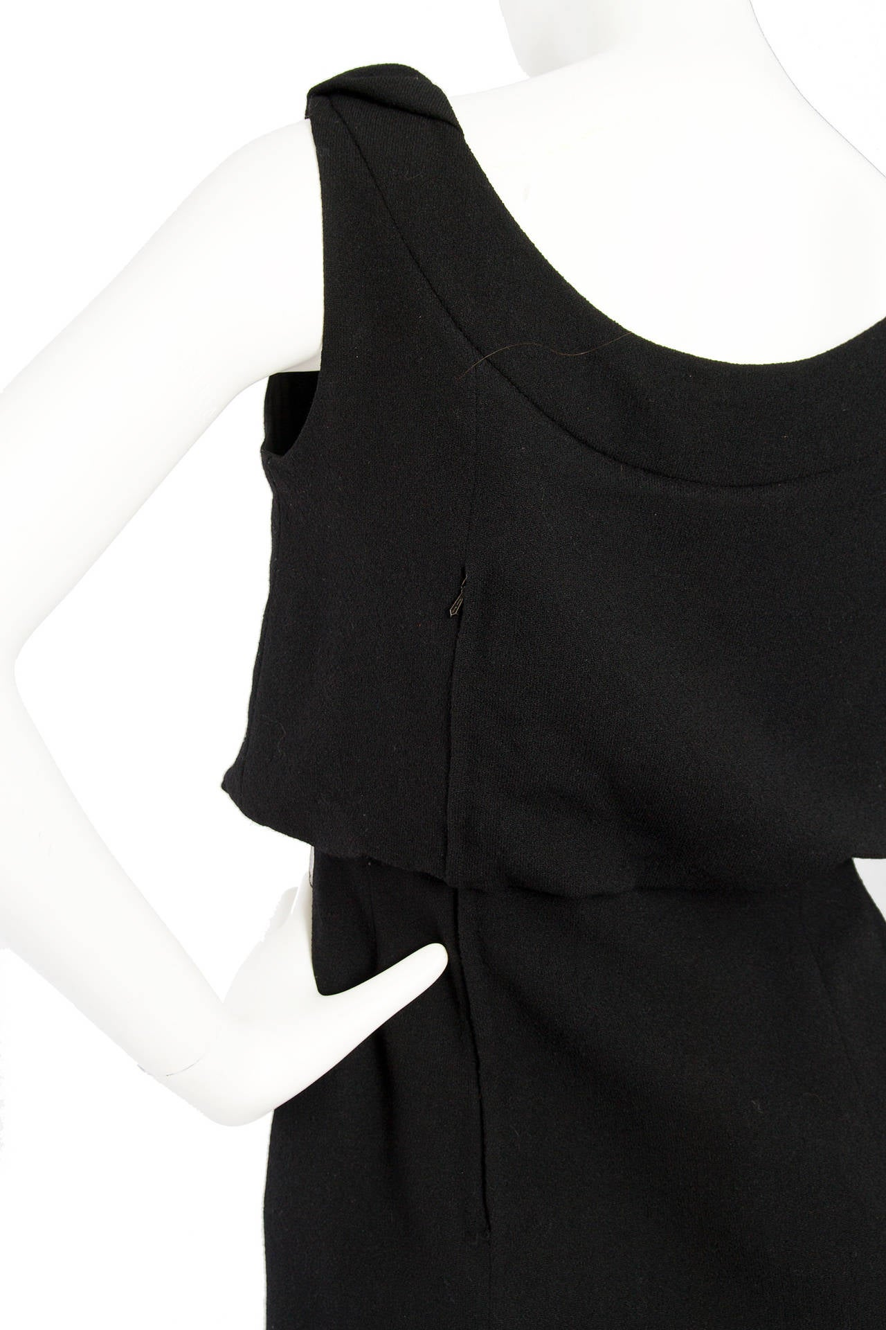 1960s Pierre Balmain Little Black Dress 7