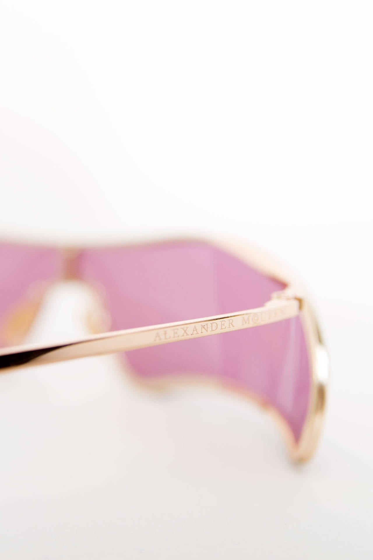 Rare Alexander McQueen Sunglasses For Sale 2