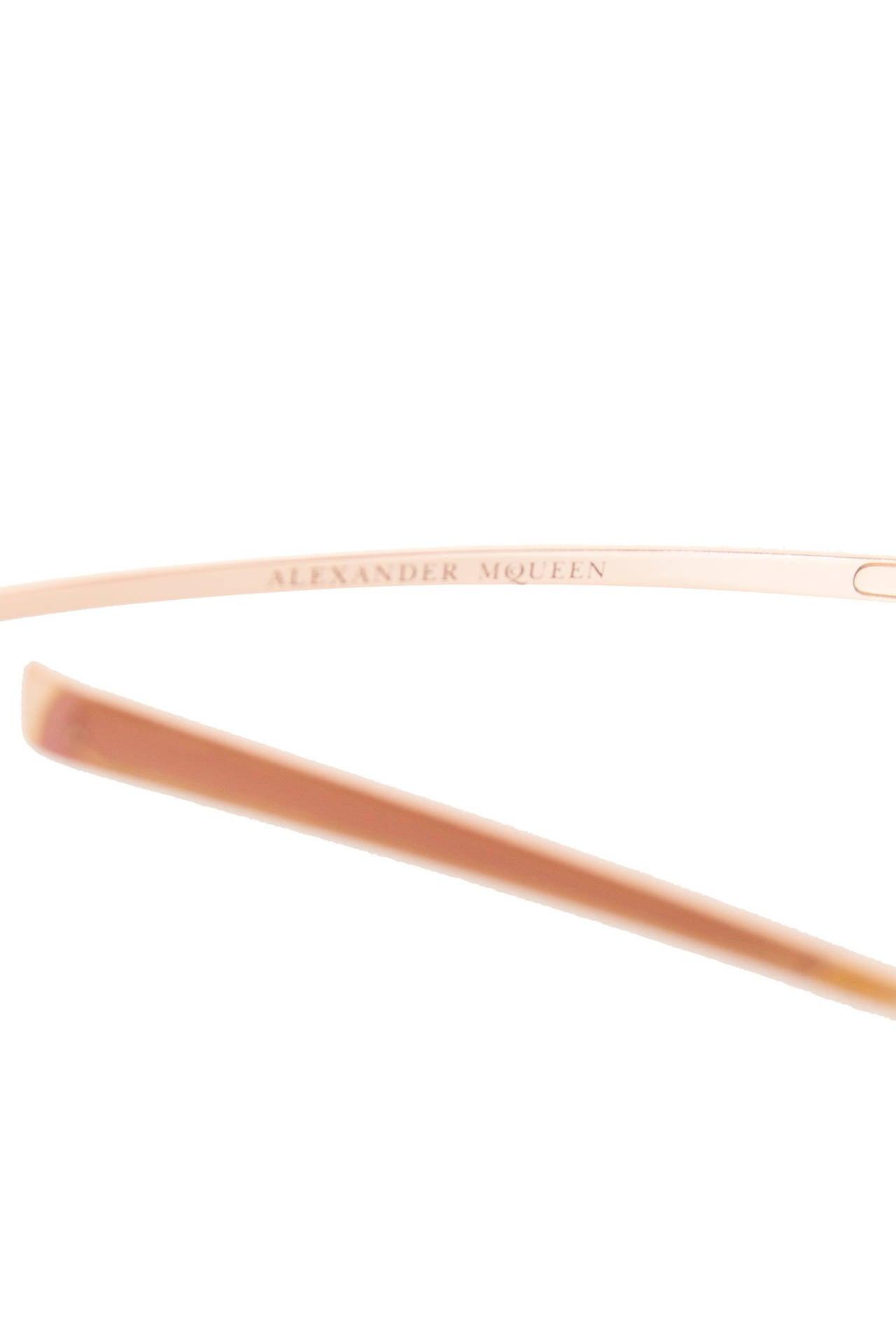 Rare Alexander McQueen Sunglasses For Sale 1