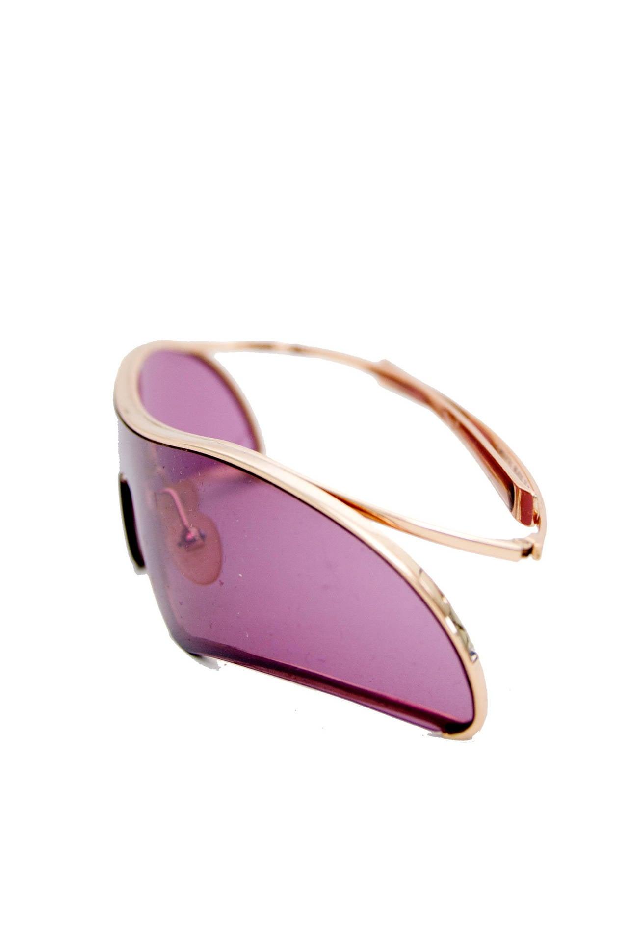 Brown Rare Alexander McQueen Sunglasses For Sale