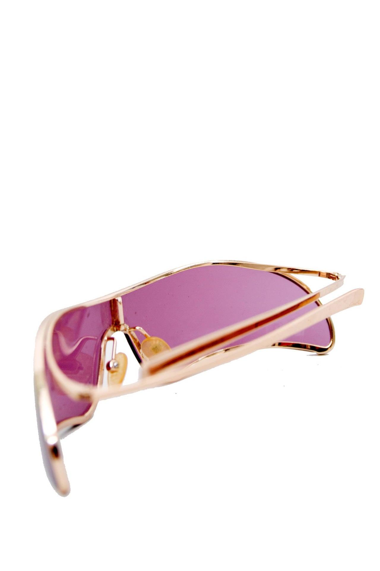 Rare Alexander McQueen Sunglasses In Good Condition For Sale In Copenhagen, DK