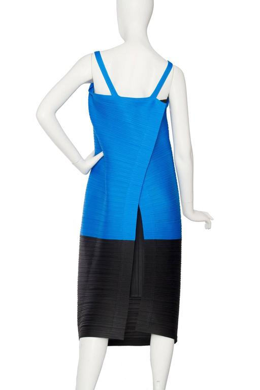 1980s Pleats Please Dress by Issey Miyake  For Sale 1