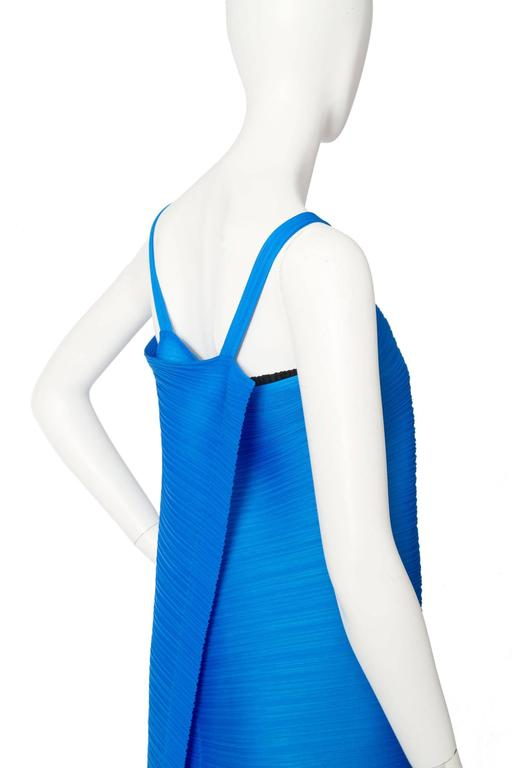 1980s Pleats Please Dress by Issey Miyake  For Sale 4