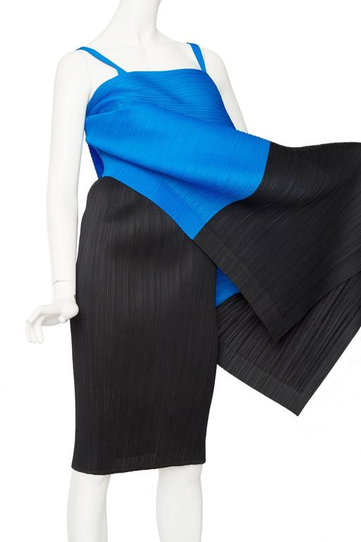 1980s Pleats Please Dress by Issey Miyake  For Sale 2