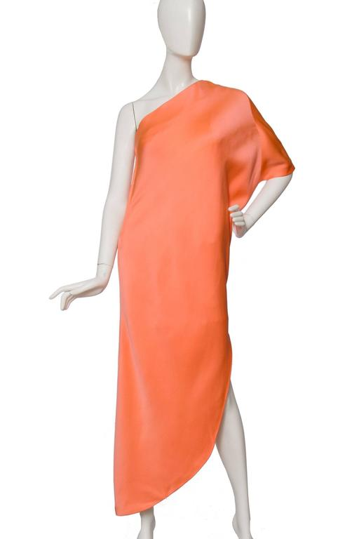 1960s Givenchy Haute Couture Silk Dress In Good Condition For Sale In Copenhagen, DK