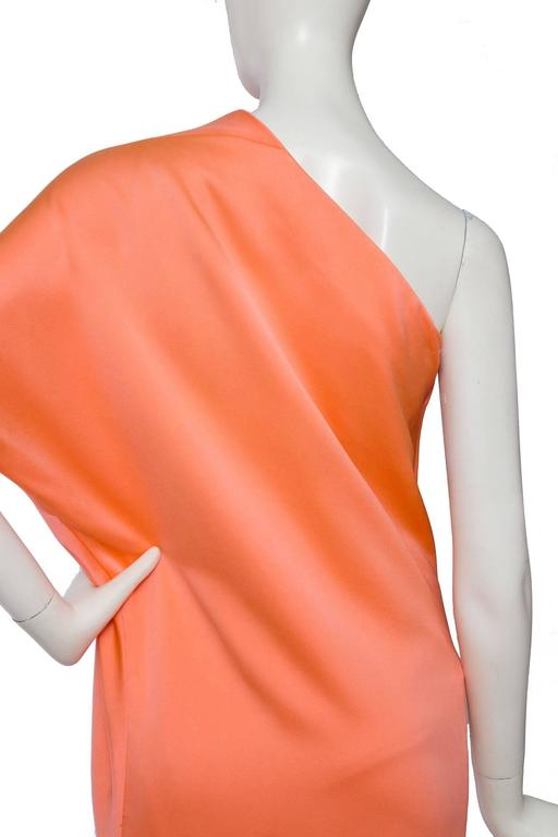 1960s Givenchy Haute Couture Silk Dress For Sale 4