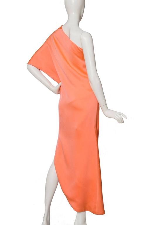 Women's 1960s Givenchy Haute Couture Silk Dress For Sale