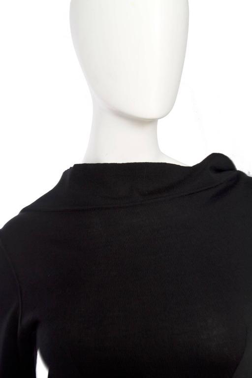 1990s Alaia Little Black Dress 9