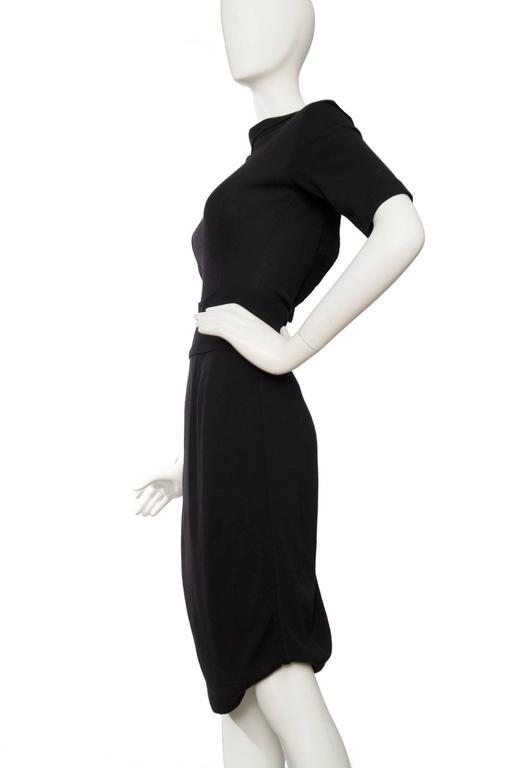 1990s Alaia Little Black Dress 3