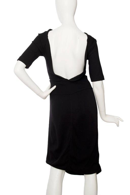 1990s Alaia Little Black Dress 5