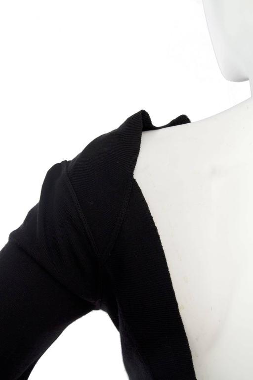 1990s Alaia Little Black Dress 8