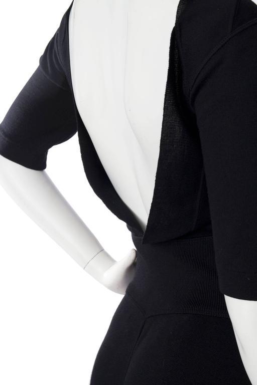 1990s Alaia Little Black Dress 7