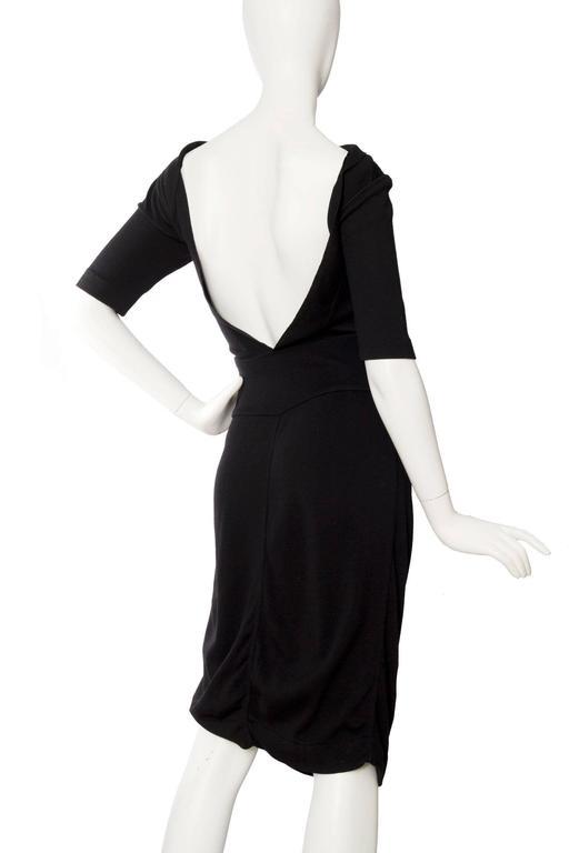 1990s Alaia Little Black Dress 4
