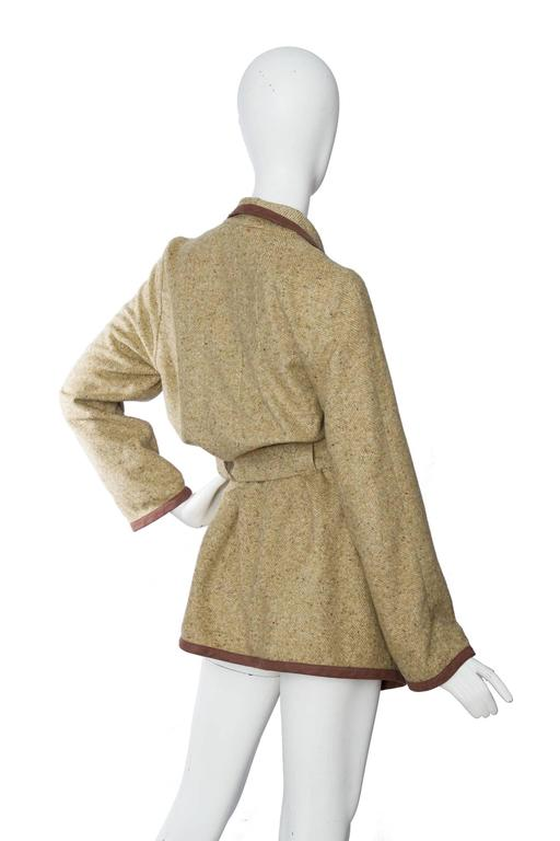 1980s Wool & Silk Thierry Mugler Cardigan  4