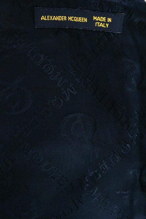 ca 2000's Alexander McQueen Iconic Tartan Blouse 2