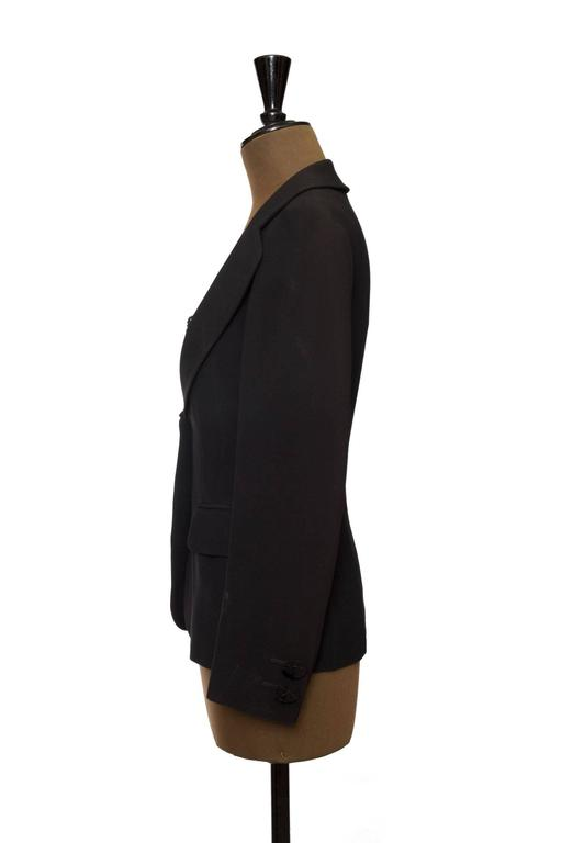 1990s Moschino Couture Blazer W Attached Undergarment In Good Condition For Sale In Copenhagen, DK