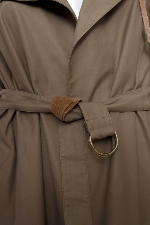 1980s Claude Montana Trench Coat For Sale 5