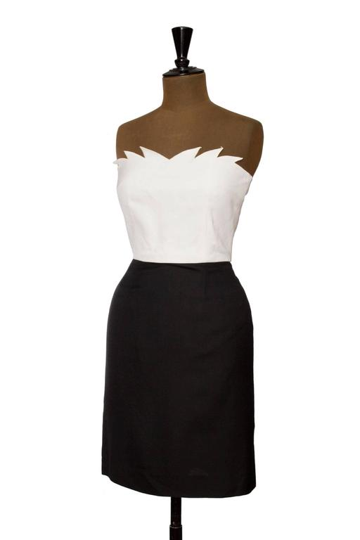 1980s Nina Ricci Cocktail Dress 3