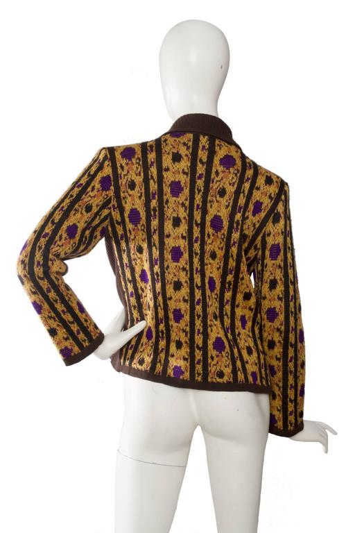 1980s Yves Saint Laurent Wool Cardigan 4