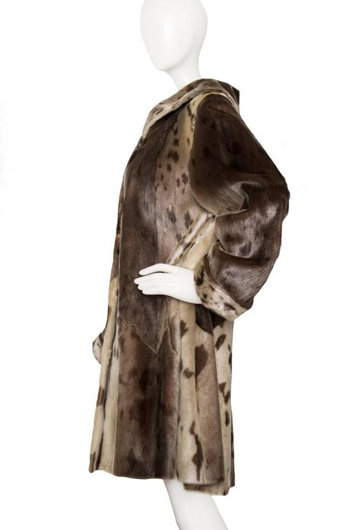 Yves Saint Laurent 90s Seal Skin Fur Coat 2