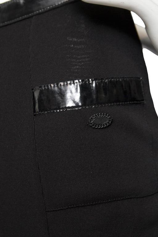 Flirty Little Black Chanel Skirt For Sale 1