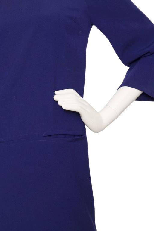 Purple Christian Lacroix 1990s Tunic Dress For Sale 1