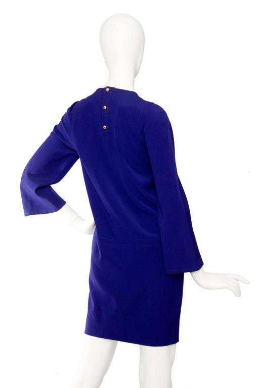 Women's  Purple Christian Lacroix 1990s Tunic Dress For Sale